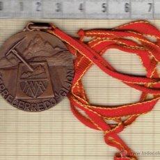 Trofeos y medallas: MEDALLA ASOCIACION MONTAÑERA AMATEUR-TORRECEREDO-GIJON.. Lote 41574739
