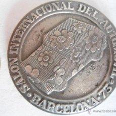 Trofeos y medallas: MEDALLA SALON INTERNACIONAL AUTOMOVIL BARCELONA 1973. Lote 41595386
