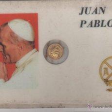 Moneda Pequeña Juan Pablo II