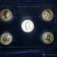 Trofeos y medallas: MONEDAS CONMEMORATIVAS FAMILIA REAL. Lote 42868200