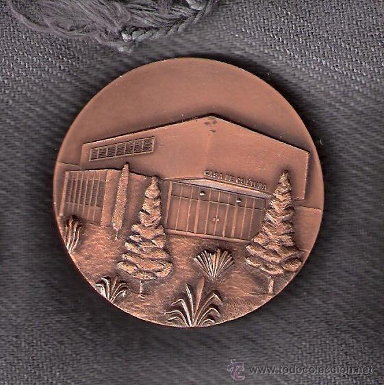 BIBLIOTECA POPULAR *JOAN MARAGALL* Y CASA DE CULTURA. CORNELLÁ 22-12-69. MEDALLA CONMEMORATIVA 1969. (Numismática - Medallería - Trofeos y Conmemorativas)