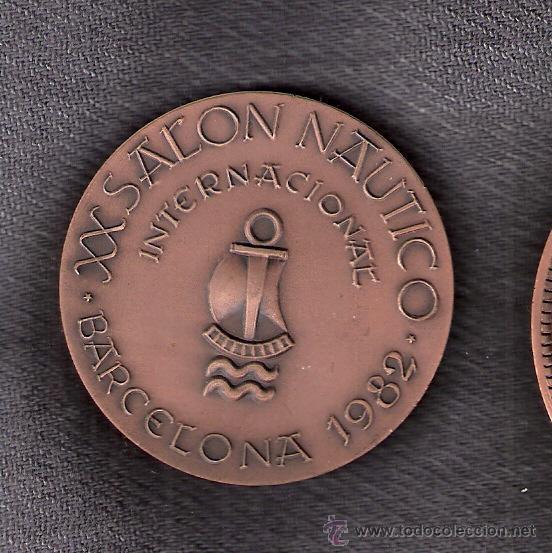 Trofeos y medallas: XX Salón Náutico. Barcelona 1982. Fragata Blindada Numancia 1864. - Foto 2 - 43067705