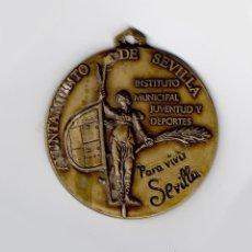 Trofeos y medallas: MEDALLA AYUNTAMIENTO SEVILLA JUVENTUD Y DEPORTES. GIRALDILLO. Lote 43231689