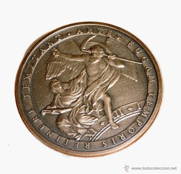 Trofeos y medallas: Patek Philippe Medalla Museo, Artes Fugam Temporis Retinere Temptant Aux Passionnés de LHorlog - Foto 2 - 43396728
