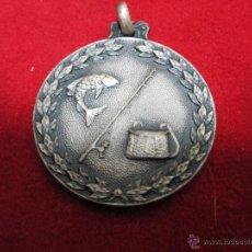 Trofeos y medallas: MEDALLA TROFEO DE PESCA. Lote 43668189