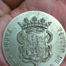 Trofeos y medallas: MEDALLA AYUNTAMIENTO MALAGA CONMEMORATIVA. Lote 43983241