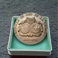 Trofeos y medallas: MEDALLA DE ORO DE LA CIUDAD CIRCULO CATOLICO DE OBREROS BURGOS. Lote 44000744