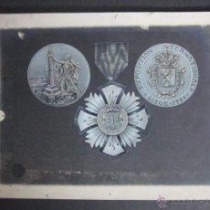 Trofeos y medallas: BOCETO ORIGINAL MEDALLA EXPOSICION LIEGE 1926 - (V-892). Lote 44007285