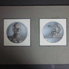 Trofeos y medallas: BOCETO ORIGINAL MEDALLA EXPOSICION FIERA CAMPIONI - SELLO EN SECO J.SANTONJA REUS (V-893). Lote 44007340