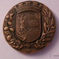Trofeos y medallas: MEDALLA MENTON GASTON BIGARD MXMLIII BRONCE DIAMETRO 7 CMTS-CON ESTUCHE. Lote 44439712