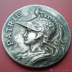 Trofeos y medallas: PRECIOSA MEDALLA - PATRIE - SOCIETÉ DE TIR - LES EX DU XIV.E ARRONDI - PARIS. Lote 45105036