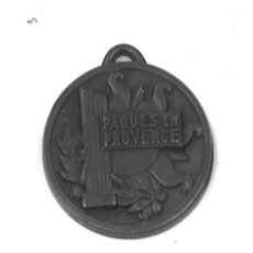 Trofeos y medallas: MEDALLA FRANCESA 1949. 25 ANIV. FEDERACION FRANCESA DE CICLOTURISTAS. Lote 45110916