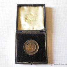 Trofeos y medallas: MEDALLA DE BRONCE DE ALGUNA CARRERA DE AUTOMOVILES DE 1913. Lote 45381689