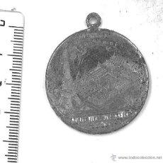 Trofeos y medallas: MEDALLA RECUERDO DE LA EXPOSICIÓN UNIVERSAL DE PARÍS DE 1889. Lote 45747181