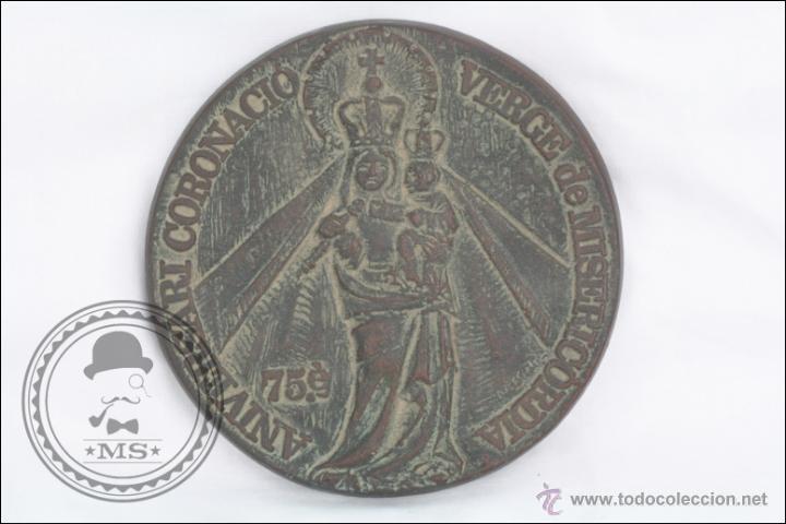 MEDALLA DE BRONCE 75 ANIVERSARI CORONACIÓ VERGE DE MISERICORDIA, 1904-1979, REUS - MEDIDA 11 CM DIÁM (Numismática - Medallería - Trofeos y Conmemorativas)