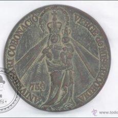 Trofeos y medallas: MEDALLA DE BRONCE 75 ANIVERSARI CORONACIÓ VERGE DE MISERICORDIA, 1904-1979, REUS - MEDIDA 11 CM DIÁM. Lote 46164635