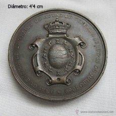 Trofeos y medallas: MEDALLA 1869 TRAIDA DE AGUAS JEREZ TEMPUL. Lote 46225282