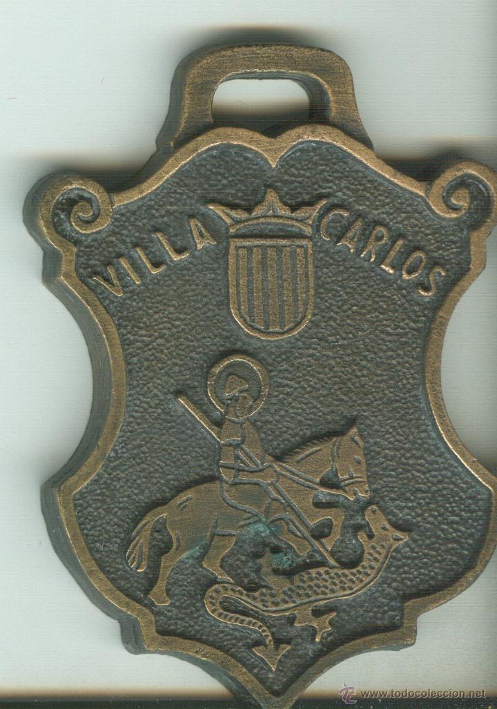 MEDALLA CONMEMORATIVA AJUNTAMENT DES CASTELL - MENORCA (Numismática - Medallería - Trofeos y Conmemorativas)