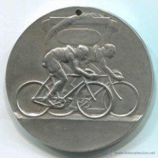 Trofeos y medallas: MEDALLA CICLISMO. 50 MM DE DIAMETRO.. Lote 46510899