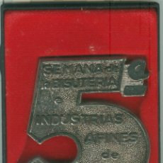 Trofeos y medallas: MEDALLA/PISAPAPELES CONMEMORATIVO SEBIME 1975 MAHÓN (MENORCA). Lote 46542534