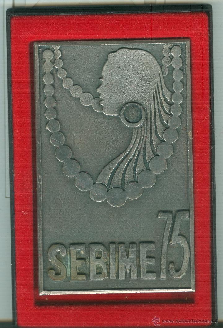 MEDALLA/PISAPAPELES CONMEMORATIVO SEBIME 1975 MAHÓN (MENORCA) (Numismática - Medallería - Trofeos y Conmemorativas)