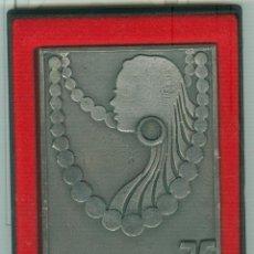Trofeos y medallas: MEDALLA/PISAPAPELES CONMEMORATIVO SEBIME 1975 MAHÓN (MENORCA). Lote 46543500