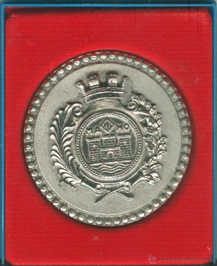 MEDALLA/PISAPAPELES CONMEMORATIVO FIESTAS Nª SRA. DE GRACIA 1973 MAHÓN (MENORCA) (Numismática - Medallería - Trofeos y Conmemorativas)