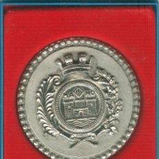 Trofeos y medallas: MEDALLA/PISAPAPELES CONMEMORATIVO FIESTAS Nª SRA. DE GRACIA 1973 MAHÓN (MENORCA). Lote 46550759