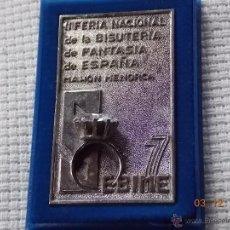 Trofeos y medallas: PLACA/PISAPAPELES CONMEMORATIVO SEBIME 77 MAHON MENORCA. Lote 46559224