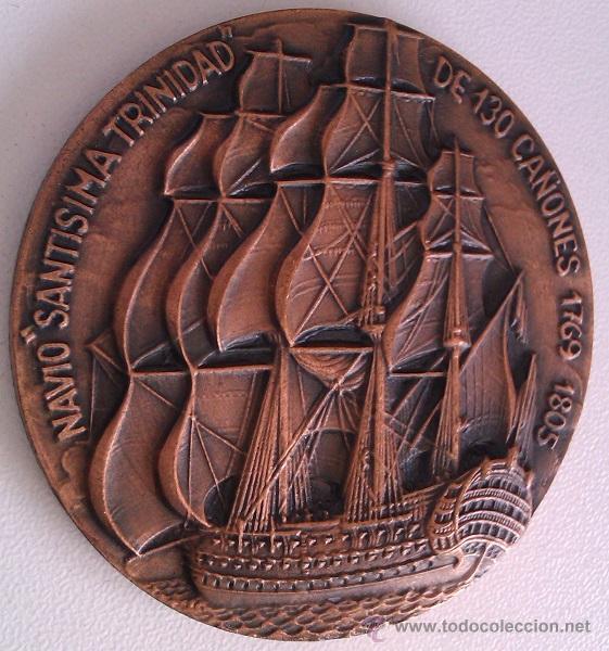 Trofeos y medallas: GRAN LOTE MEDALLAS SALON NAUTICO INTERNACIONAL Y DEL DEPORTE BARCELONA 1976, 1977 Y 1978 COBRE - Foto 6 - 46869385