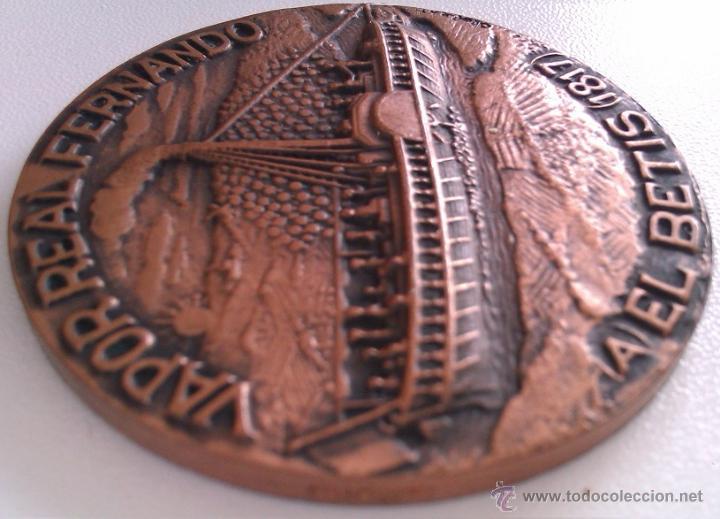 Trofeos y medallas: GRAN LOTE MEDALLAS SALON NAUTICO INTERNACIONAL Y DEL DEPORTE BARCELONA 1976, 1977 Y 1978 COBRE - Foto 10 - 46869385
