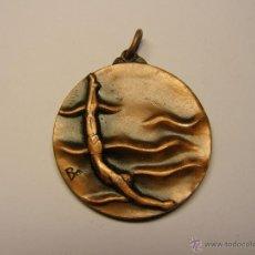 Trofeos y medallas: MEDALLÓN CONMEMORATIVO CLUB NATACIÓ CATALUNYA, AÑO 1973.. Lote 46888631