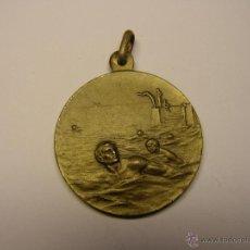 Trofeos y medallas: MEDALLÓN CONMEMORATIVO TRAVESIA PUERTO DE BLANES.. Lote 46888747