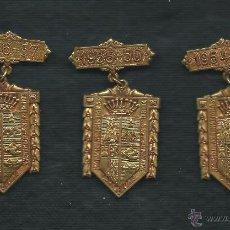 Trofeos y medallas: MEDALLAS COLEGIO DE NS. DE LA BONANOVA. BARCELONA.. Lote 47320586