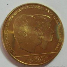 Trofeos y medallas: MEDALLA BICENTENARIO DE DE LA REFORMA NEOCLÀSSICA DE LA CASA LLOJTA DE MAR BARCELONA 1802-2002 45MM. Lote 47336994