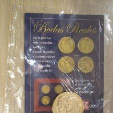 Trofeos y medallas: MONEDA CONMEMORATIVA BODAS REALES FELIPE Y LETICIA. Lote 47704195