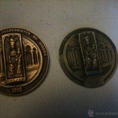 Trofeos y medallas: * MEDALLAS DE LA ASSOCIACIÓ DE PESSEBRISTES DE GIRONA.1990,1992. (RF:M12/*). Lote 48220018