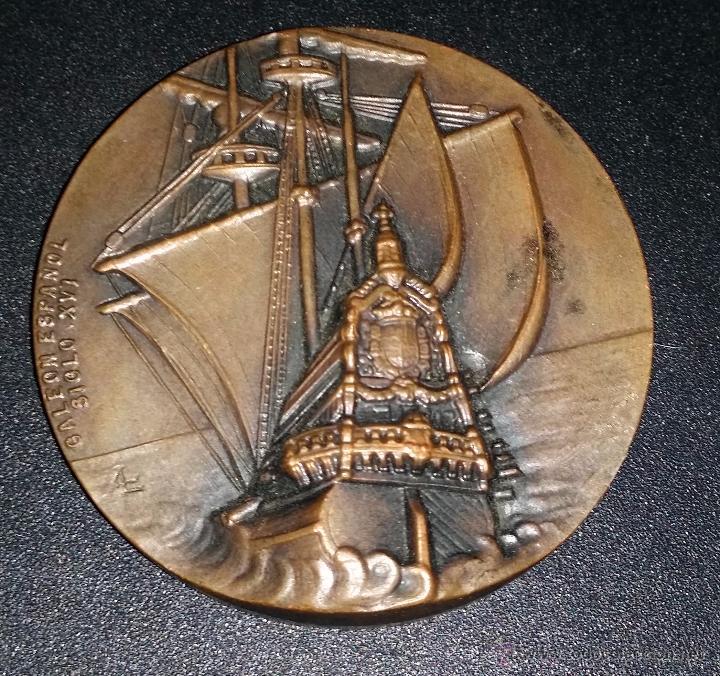 MEDALLA DEL V SALON NAUTICO DE BARCELONA (Numismática - Medallería - Trofeos y Conmemorativas)