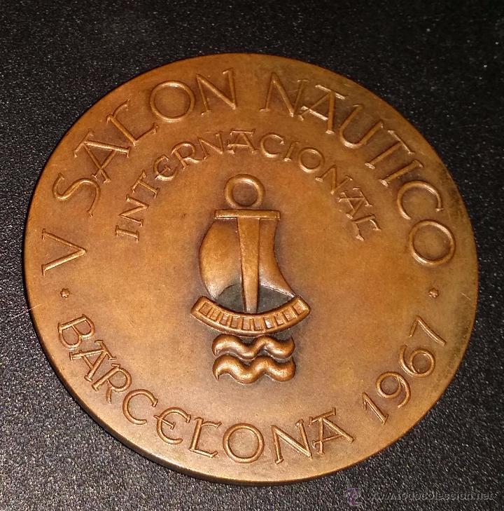 Trofeos y medallas: MEDALLA DEL V SALON NAUTICO DE BARCELONA - Foto 2 - 48364904