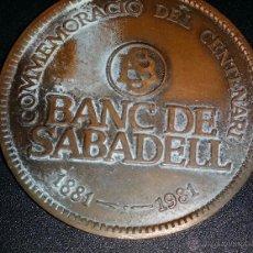 Trofeos y medallas: MEDALLA DEL BANCO DE SABADELL. Lote 48400227