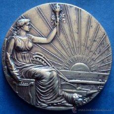 Trofeos y medallas: MONEDA CENTENARIO DE LA REPÚBLICA O. DEL URUGUAY 1830 - 1930 . Lote 48905636