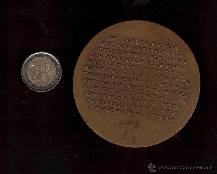 Trofeos y medallas: PRECIOSA MEDALLA TAMAÑO GRANDE DEDICADA AL CHE GUEVARA VER FOTOS - Foto 2 - 48955910