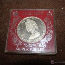 Trofeos y medallas: ELIZABETH II, 1952-1977 SILVER JUBILEE. Lote 49169235