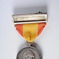 Trofeos y medallas: MEDALLA DE PLATA RAMON Y CAJAL III CONGRESO INTERNACIONAL DE ENFERMEDADES DEL TORAX BARCELONA 1954. Lote 49211687
