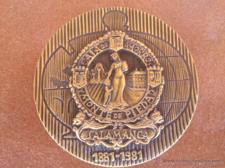 Trofeos y medallas: CAJA DE AHORROS MONTE DE PIEDAD SALAMANCA - Foto 2 - 49276917