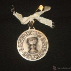 Trofeos y medallas: ANTIGUA MEDALLA VI CONGRESO EUCARISTICO NACIONAL. LEON MCMLXIV (1964).. Lote 49334982