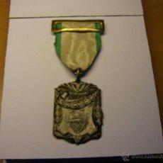 Trofeos y medallas: MEDALLA ESCOLAR APLICACIÓN, TRABAJO DE VACACIONES, COLEGIO BONANOVA LA SALLE. BARCELONA. AÑO 1958.. Lote 49528265
