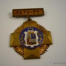 Trofeos y medallas: MEDALLA ESCOLAR. PREMIO AL MÉRITO LA SALLE 1954..55 BONANOVA. Lote 49602661