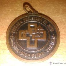 Trofeos y medallas: MEDALLA - CRUZADA PREVENCIÓN EN RUTA - GERONA GIRONA - 1967. Lote 50120901