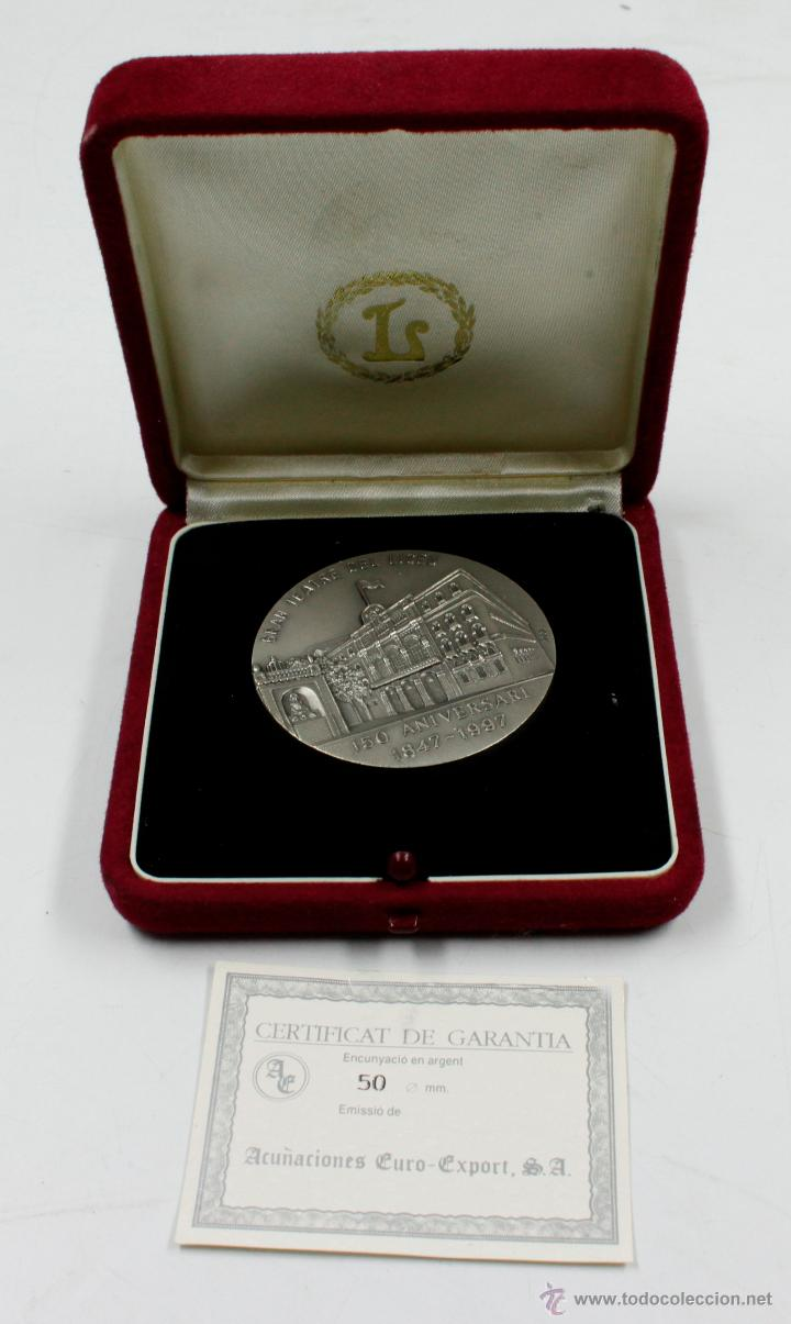 GRAN TEATRE DEL LICEU. 150 ANIVERSARI 1847-1997. 5 CM DE DIÁMETRO. PLATA (Numismática - Medallería - Trofeos y Conmemorativas)